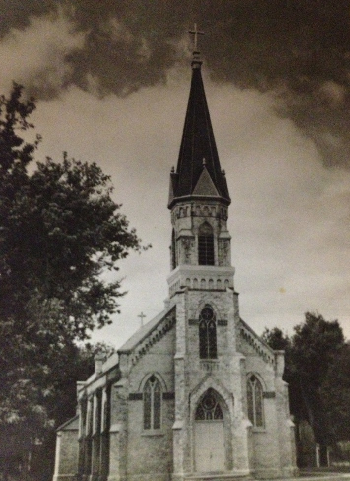 Holy Cross Church Before The 1960s Renovations