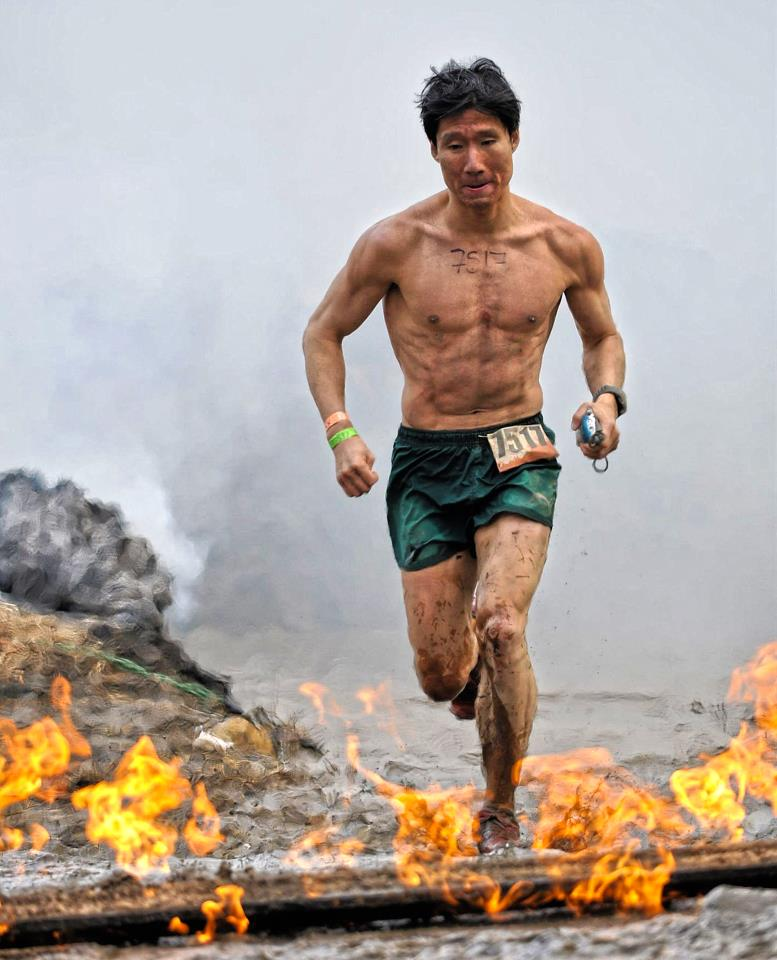 2-Time World's Toughest Mudder and Spartan Race Champion Junyong Pak