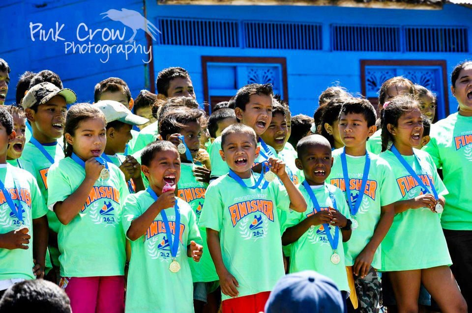 Kids at the 2012 Calzado Run - Photo by Pink Crow Photography