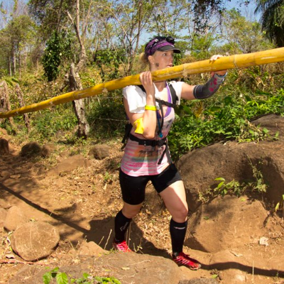 Canadian Morgan McKay tears it up at Survival Run: Nicaragua 2013