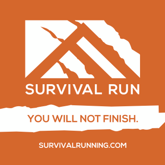 3x3 Survival Run Sticker