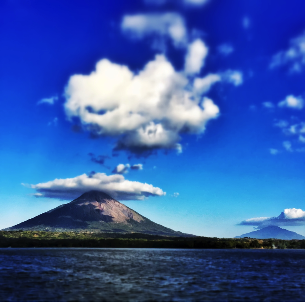 Ometepe is a volcanic island in the middle of Lake Nicaragua.  There are two ways on to the island ferry and very small plane.  I took the hour and a half ferry ride.  It is one of the coolest views you will get on a ferry the island and its two volcanoes.  You get to watch them grow in size as you get closer to the island. Once on the island I was picked up by one of the race staff along with a few others and we made the 30 min trip to Santa Domingo and the race headquarters. Finally.  I put up my gear, grabbed some food and hit the sack.