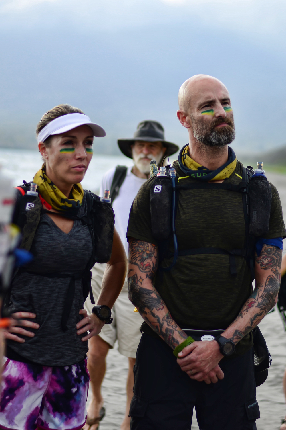 BUCKLEY'S CHANCE & SURVIVAL RUN AUSTRALIA are produced and directed by Chief Brabon and Emilie Brabon-Hames, 2-time 1st & 2nd place finishers (overall) of the Hunter Gatherer 50km Ultra, and internationally renowned fitness experts. Shown here at the 2016 SURVIVAL RUN NICARAGUA
