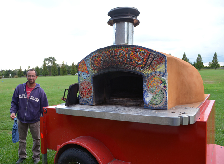 Arjun Achuthan who is one of the Founder's and Director of the Hayground Culinary Arts Program with Pizza Oven.