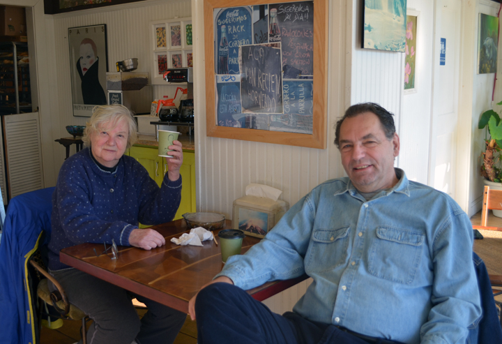 Eva and Ralph have been loyal patrons to Orlando's Cafe since its opening in 2004