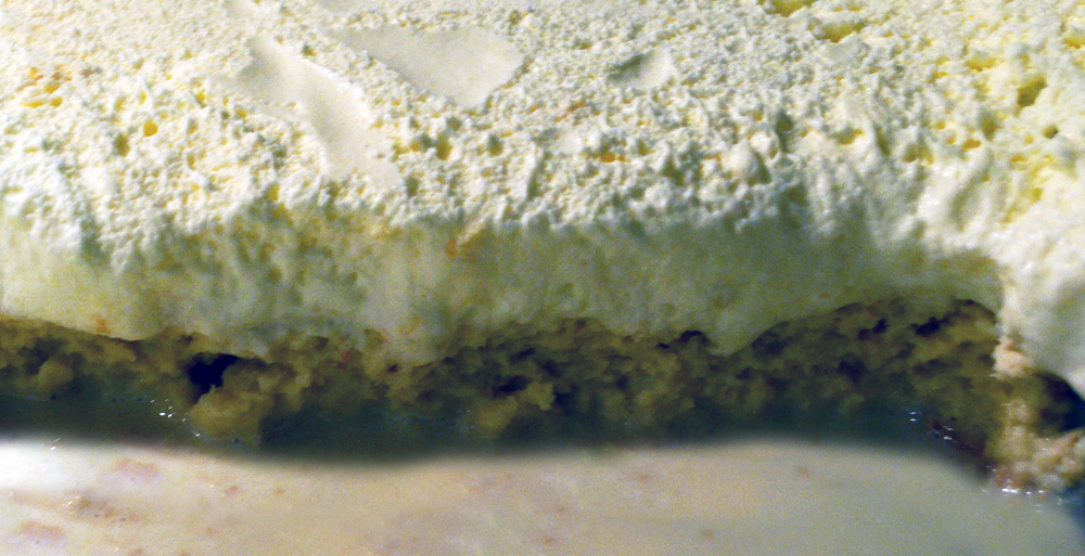 Tres Leches (three milks cake) is a recipe Garbanzo got from his sister in Costa Rica who used to own a pastry shop there.