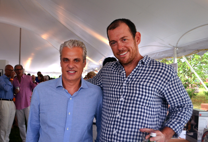 Honoree Chef Eric Ripert and Fisherman Sean Barrett of Dock-to-Dish