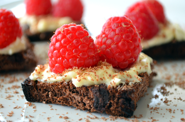 Chocolate Bread Bruschetta