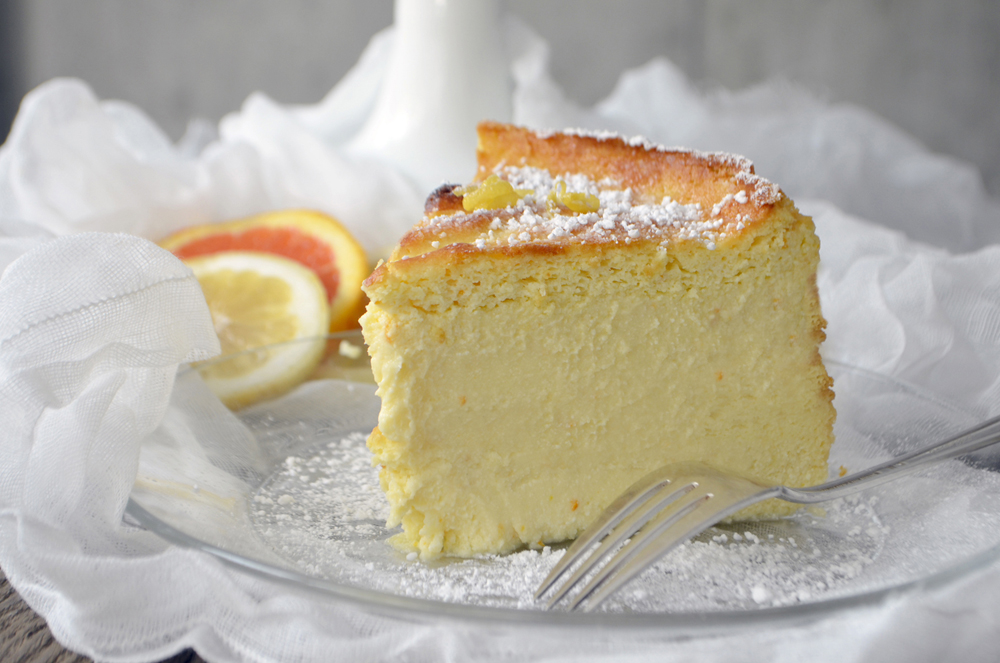Ricotta Cheesecake Recipe — Dishmaps