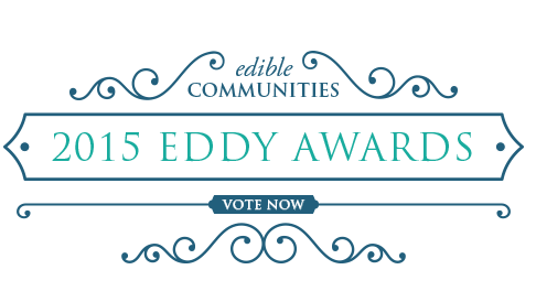 Finalist for the 2015 Eddy Awards for Best HEALTHFUL RECIPE written for edible east end magazine. VOTE NOW UNTIL MARCH 15th