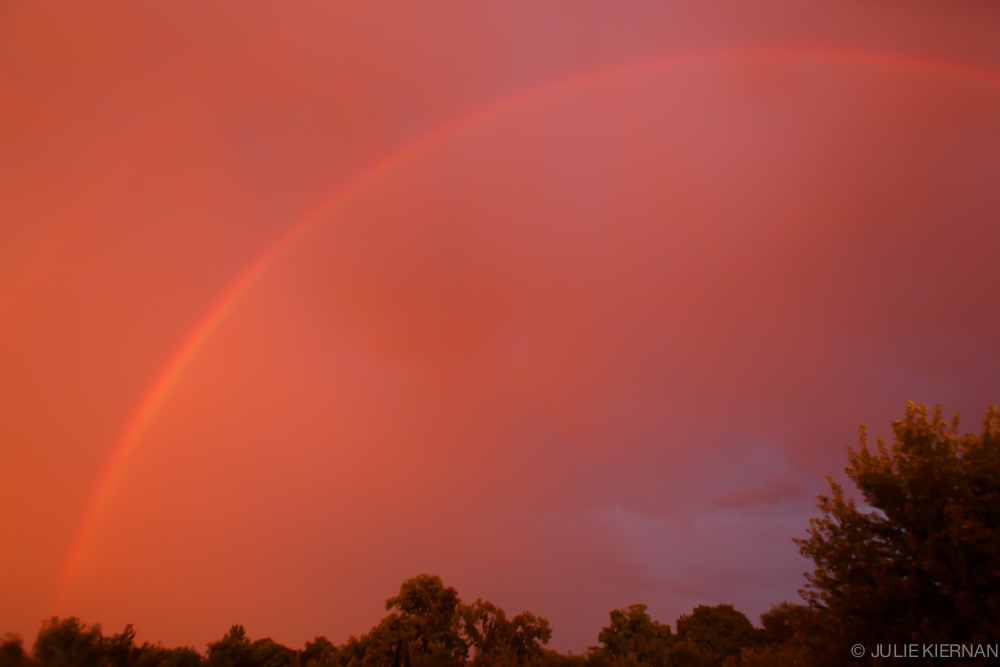 49:2 Orange Sky and Rainbow