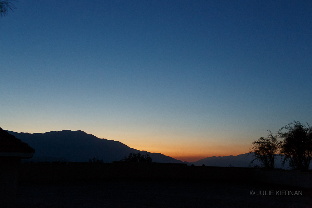 Palm Desert, CA Sunset 2015
