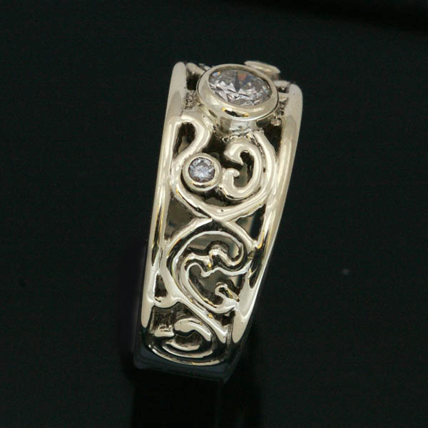 Filligree ring