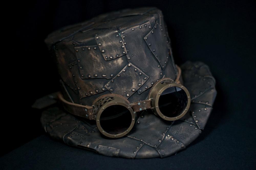 DIY Steampunk Top Hat and Pattern — Lost Wax 28ffaf5c551
