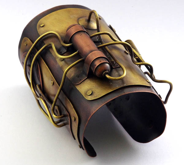 Copper and Brass Bracer