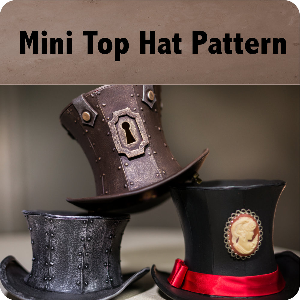 Mini Top Hat Pattern Photo