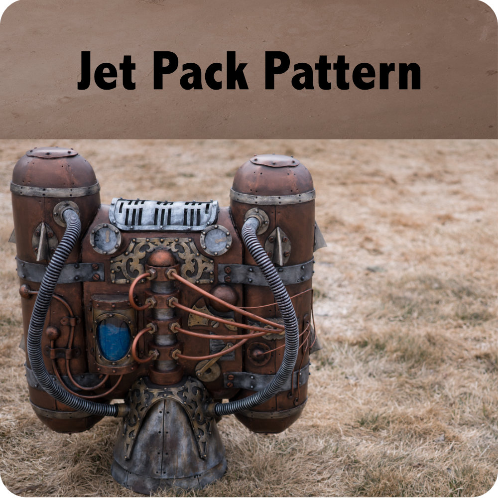 Steampunk Jet Pack Pattern Photo