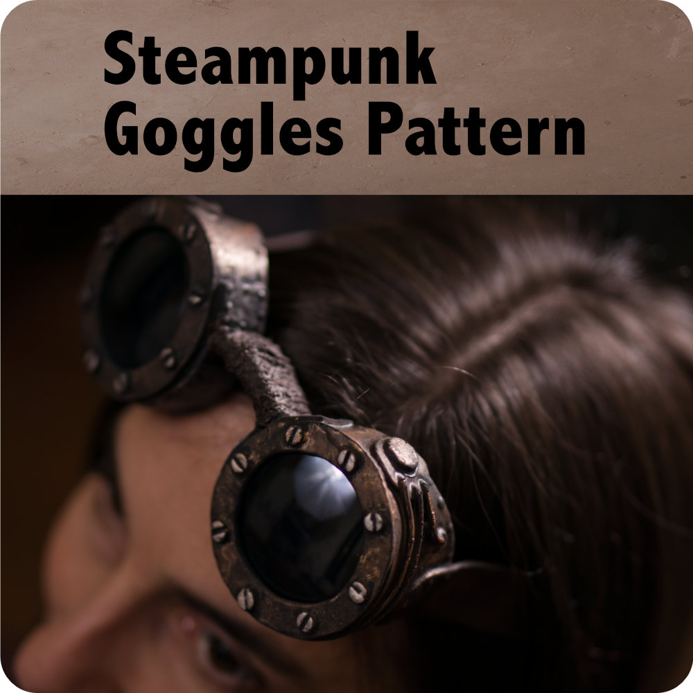 Steampunk Goggles Pattern Photo