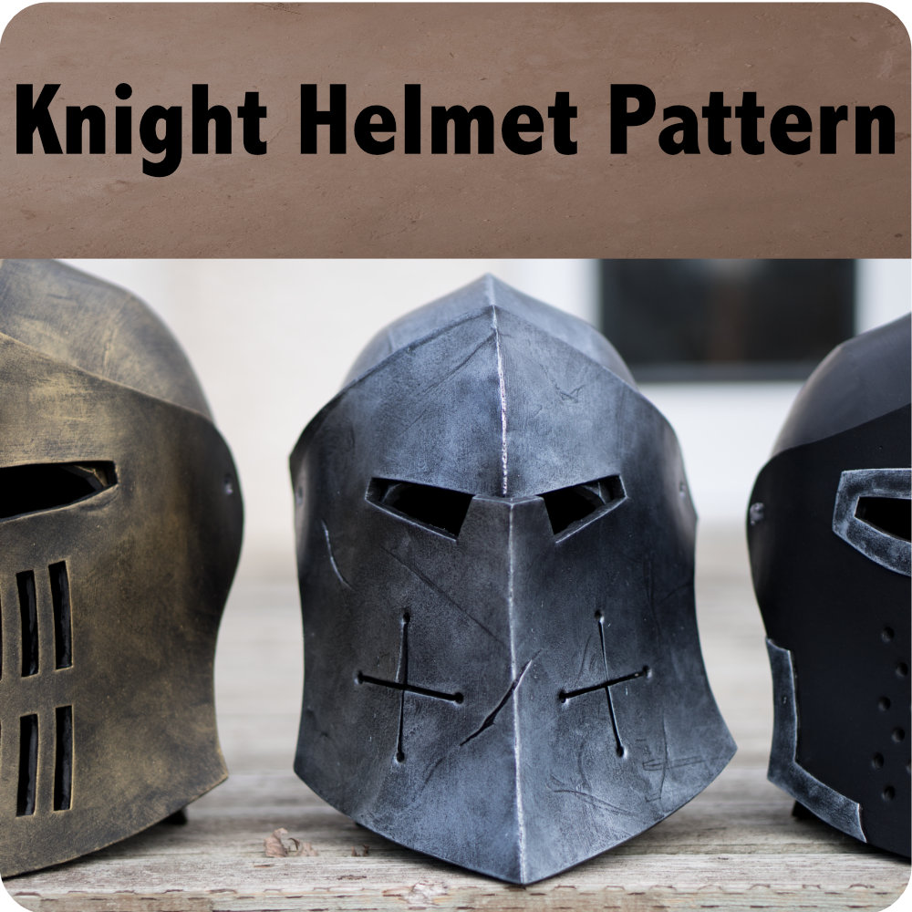 Knight Helmet Pattern Photo