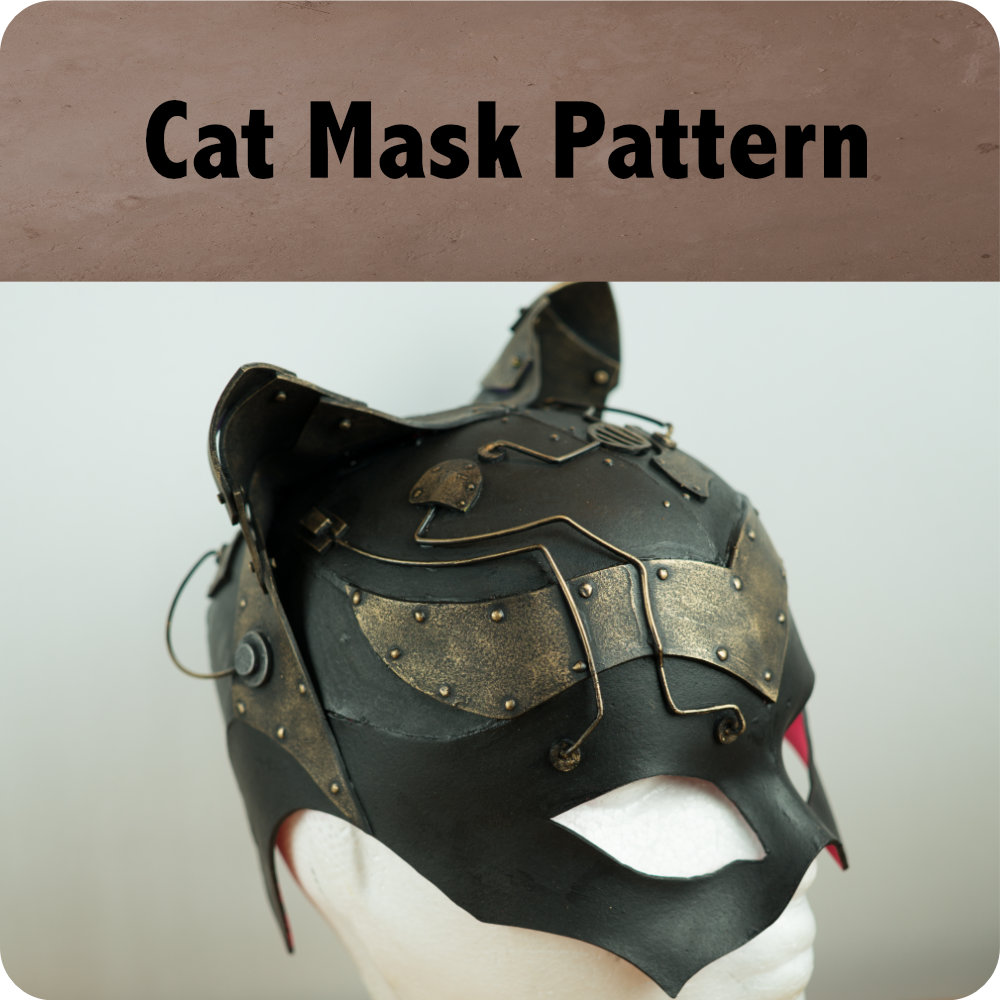 Cat Mask Pattern Photo
