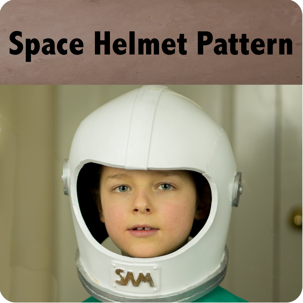 Space Helmet Pattern Photo