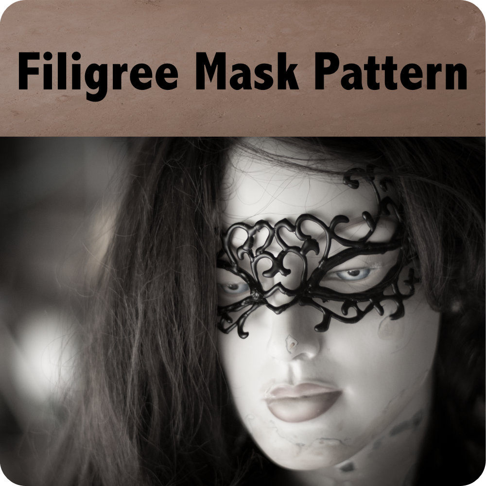 Filigree Mask Pattern Photo