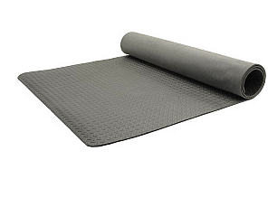 Shock Athletics Microban Foam Mat This is a 4ft by 8ft  EVA mat. It is approx 7mm thick. The link here is to the one I bought at Canadian Tire, however I have seen these by different brands in other places as well. Let me know if you find one and I will add it to the list.