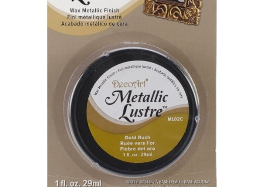 DecoArt Metallic Lustre Gold Rush (Amazon Affiliate Link)