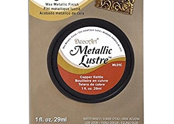 DecoArt Metallic Lustre Wax Paste: Copper Kettle -