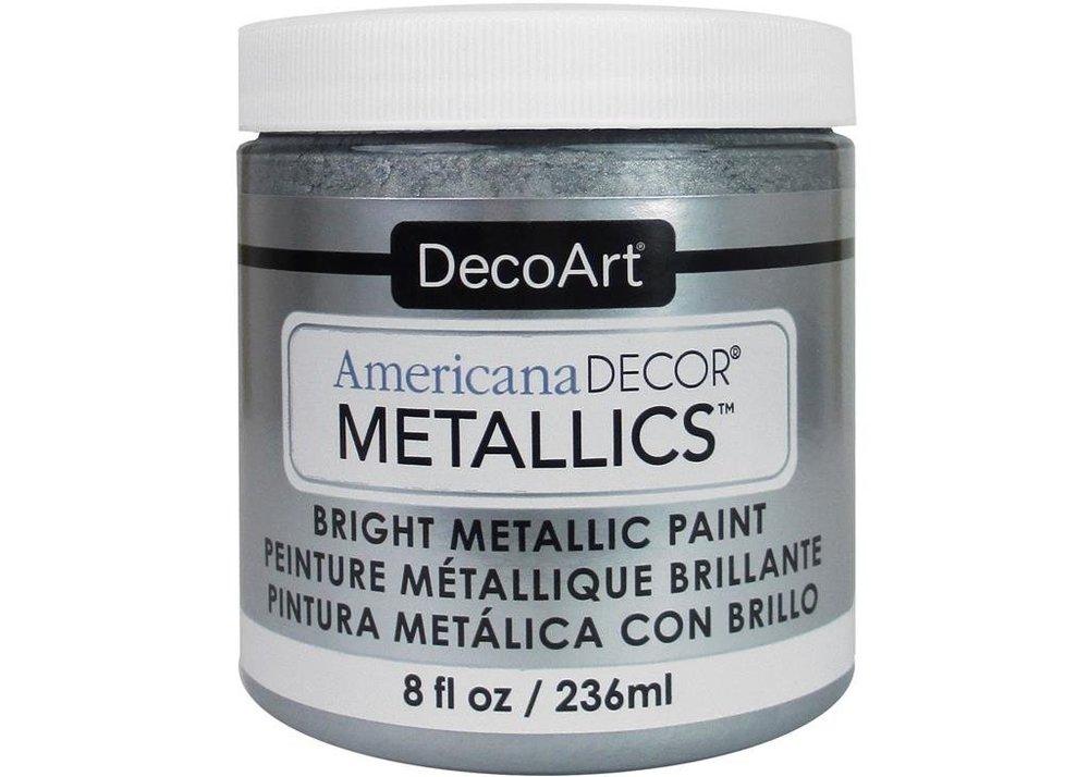 AmericanaDecor MetallicsSilver -