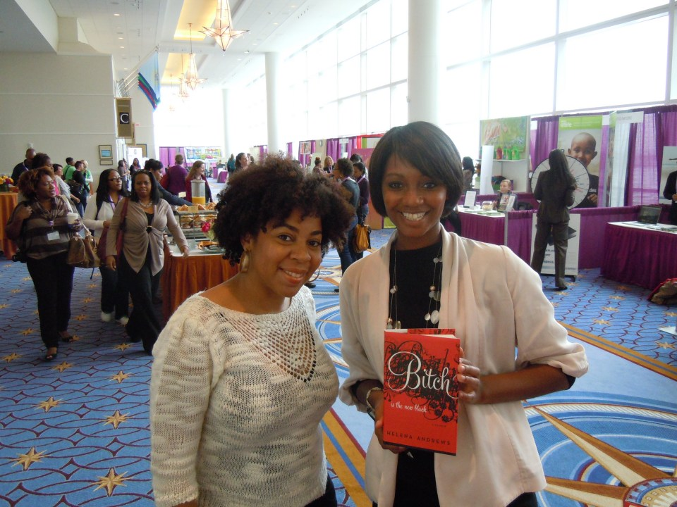 W/ Helena Andrews @ Blogalicious 2011 in Washington DC