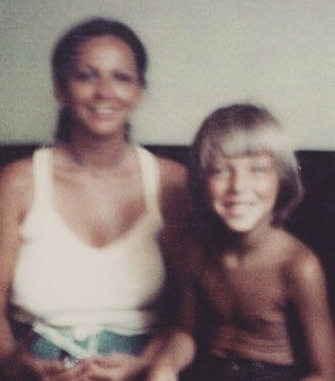 The yearly repost of my favorite old, blurry photo of me and my mom. It's a downer to mention... but we lost her to suicide. If you EVER feel that low, know there are people (like me) that are available. She's been gone almost 10 years, but her loss is still fresh on days like today.