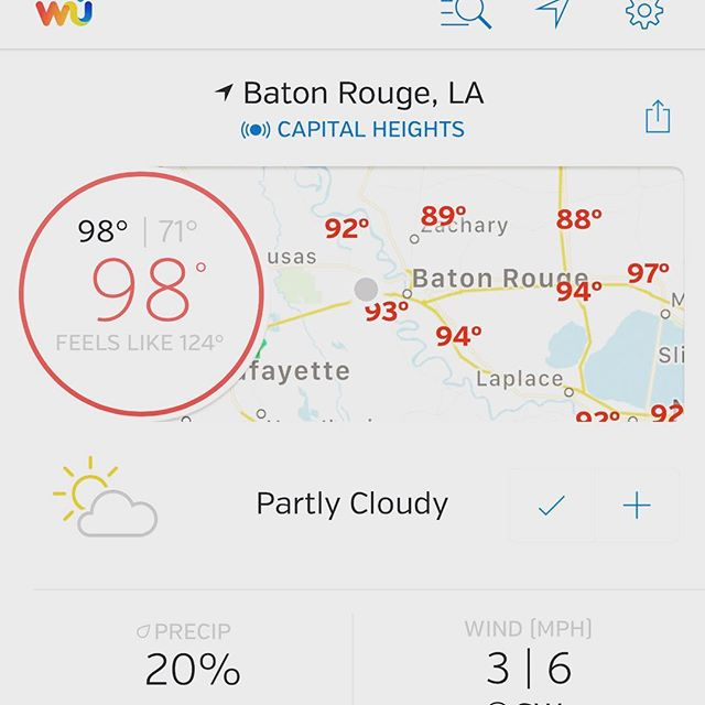 😩😩 #hot #louisiana #batonrouge #hades