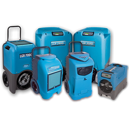 LGR dehumidification equipment.