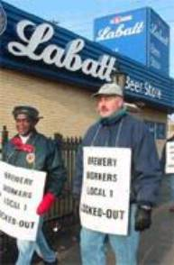 Labatt; London; Local 1 - Lockout