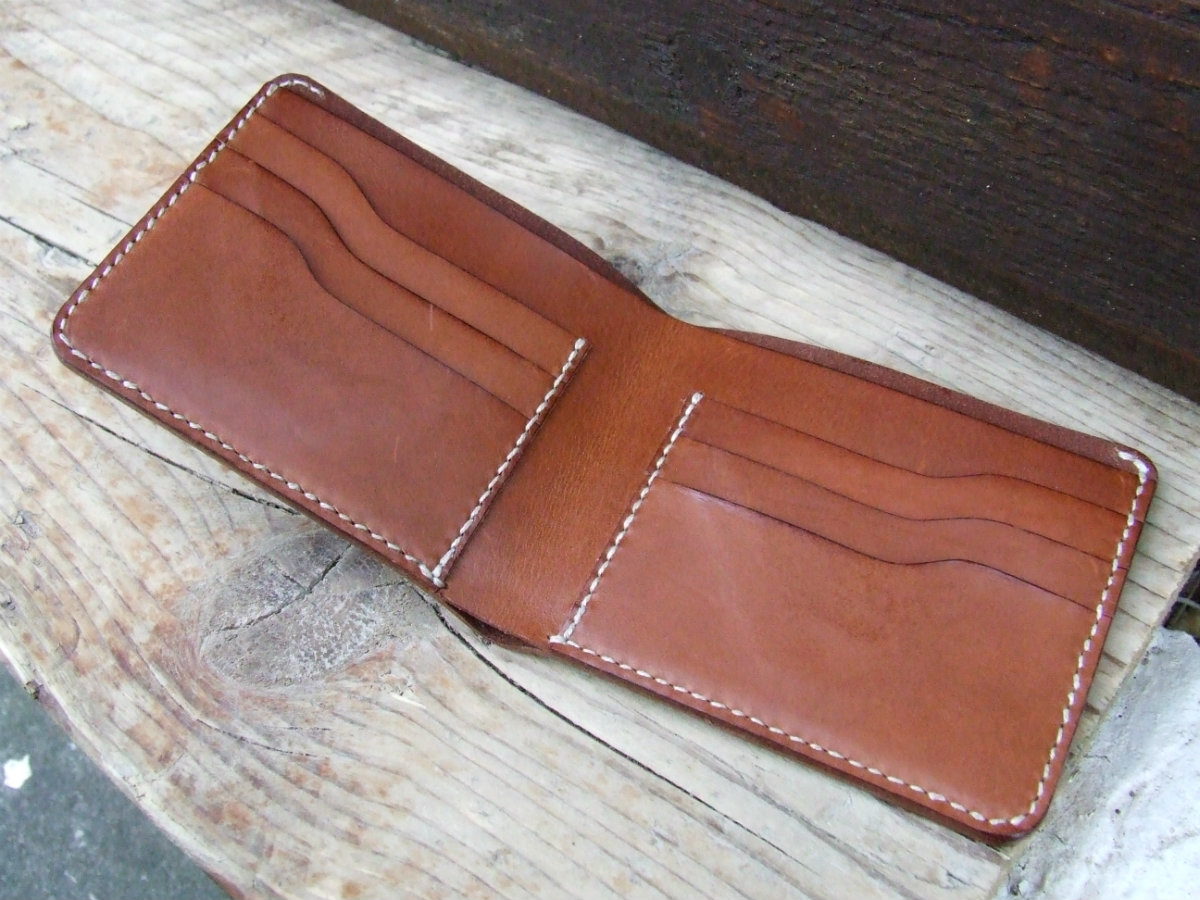 Billfold - Custom order with round edges
