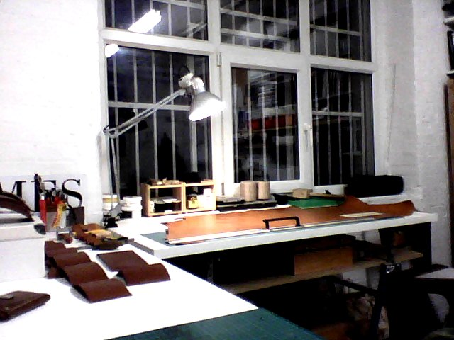 I just moved in to my new studio in Dalston… finally i have plenty of space!