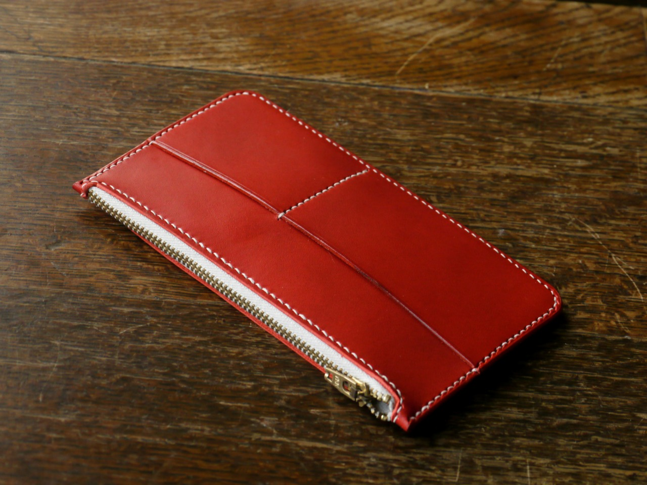 This Zip Wallet and much more will be available to purchase on M.E.S stall at Portobello Market / Golborne Road between 15th - 24th of December, plus further sample sale and one off items, all ready to go!