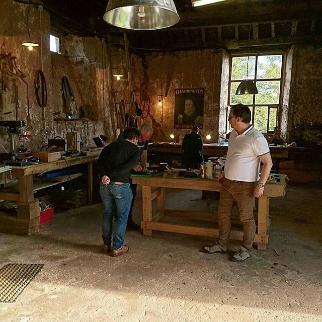 We've got another date for leather course, may 2018, France! Bookings via website, link in bio @mes_leather @lesbeaconsfialeix