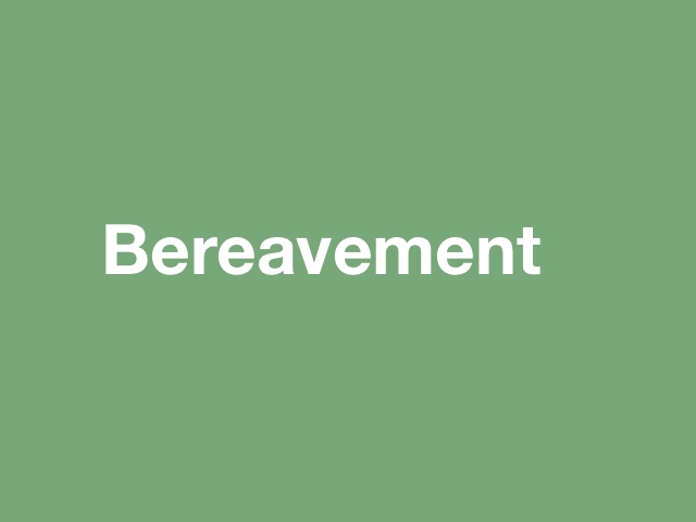 Erich Keller Counselling Bereavement