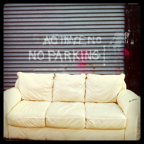 No parking, but you can lounge