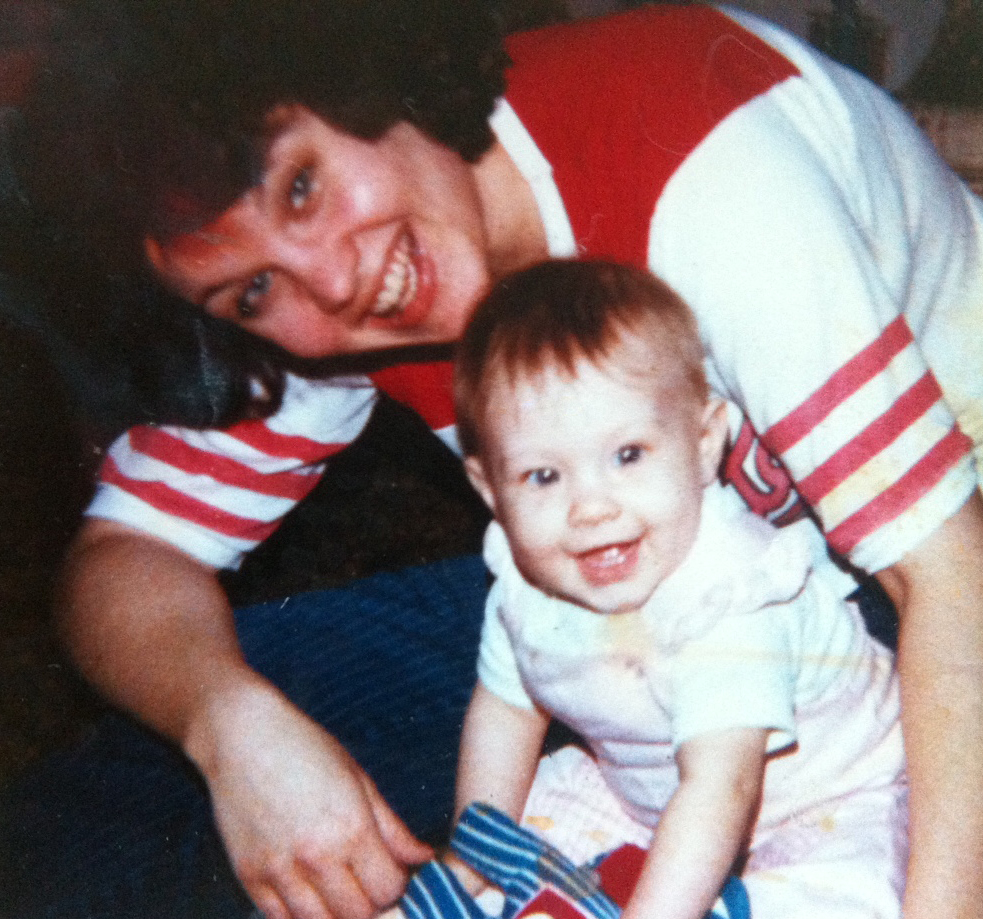 Happy Mother's Day! me and my mom circa 1986