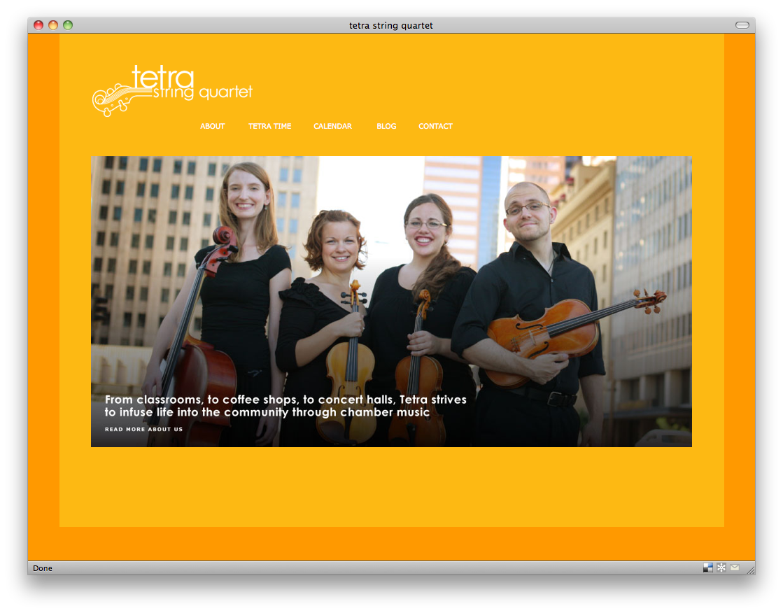 Official launch of Tetra's website!