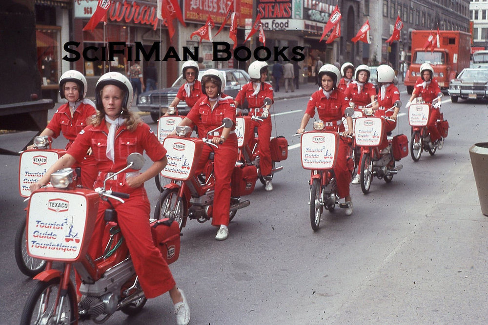 Montreal Texaco Tourist Guides Mopeds Girls 1976