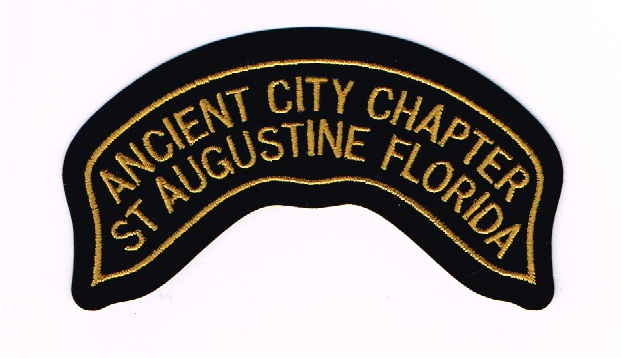 Large Chapter Back Patch ~ $18.00