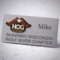 CHAPTER NAME TAG - pin back(example shown) - $8.00