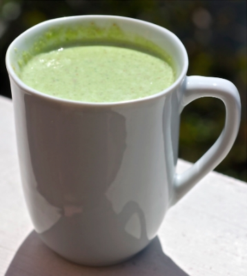 Nutritious Fruit-Veggie Smoothie