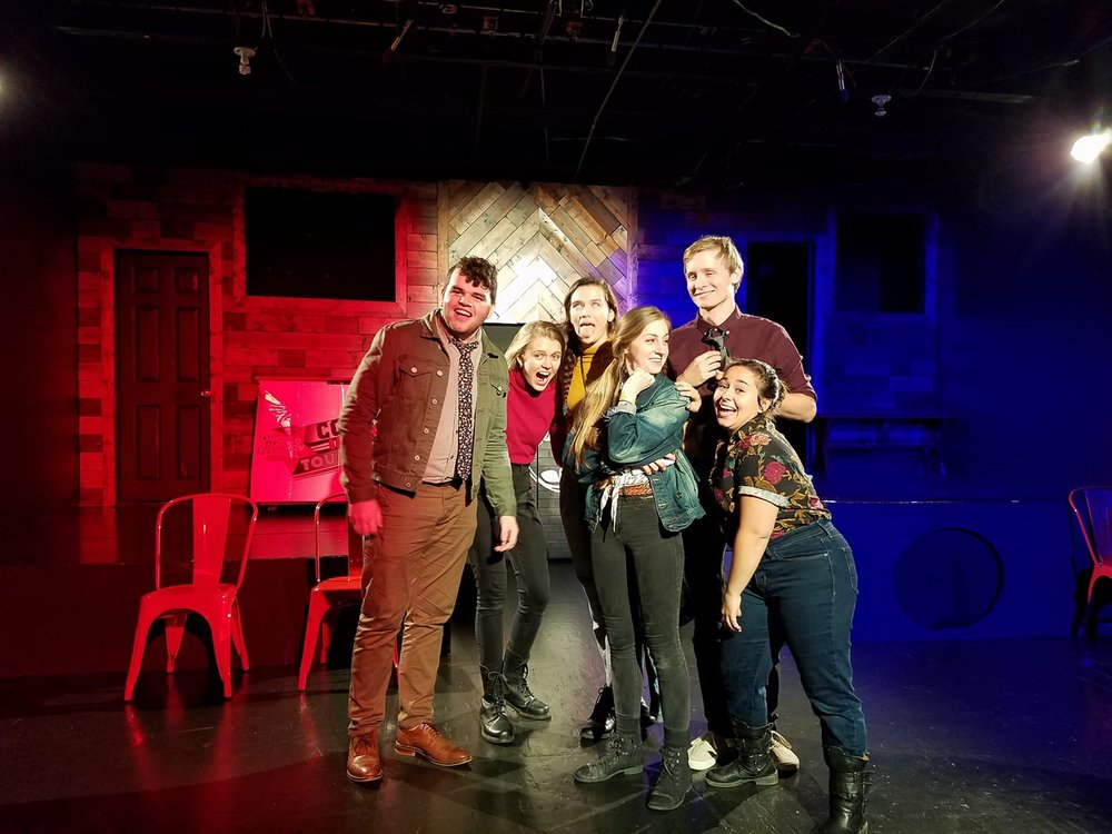 Congrats to our Sunday Group: CIT 11 Finalists! - We went to Chicago and made it to the final round of the international College Improv Tournament! For more images of our adventures please head over to our archieve!