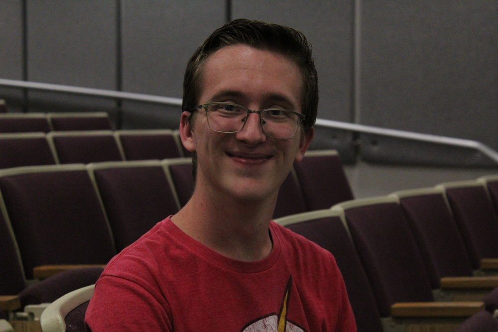 Matthew - is a 2nd year Math and Physics major. He has a black belt in Tae Kwon Do, once met Thomas Wilson from Back to the Future, and also has a near encyclopedic knowledge of general nerd culture.