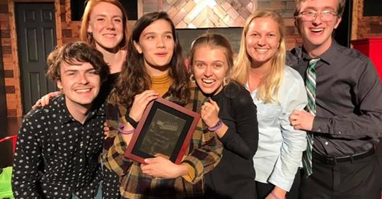Sunday - The Sunday Group is our elite Long Form Improv team. The Sunday Team travels to various Improv festivals and competitions on behalf of Theatre Strike Force. The Sunday Group is self directed.